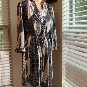 Diane Von Furstenberg SILK crepe dress 12